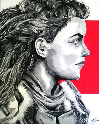 ALOY AGAIN     Acrylic  on Canvas 60x80 cm  