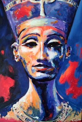 NOFRETETE 2020    Acrylic  on Canvas 60x80 cm  
