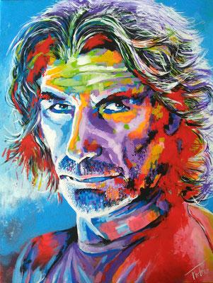 GARRET     Acrylic  on Canvas 60x80 cm  