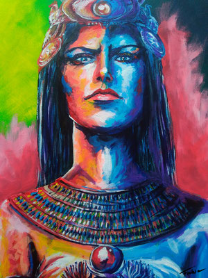 GODESS ISIS   |Acrylic  on Canvas 50x70|