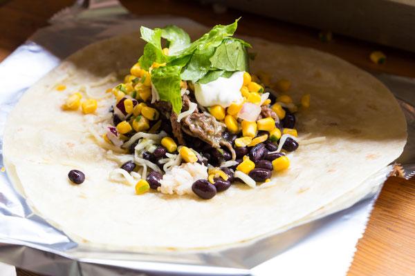 Frisch für Sie zubereitet: Burritto