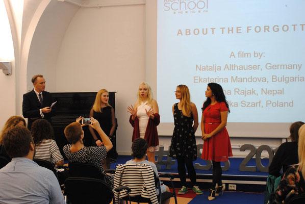 Film Summer School / Abschlussfestival Goethe-Institut, Riga 2016
