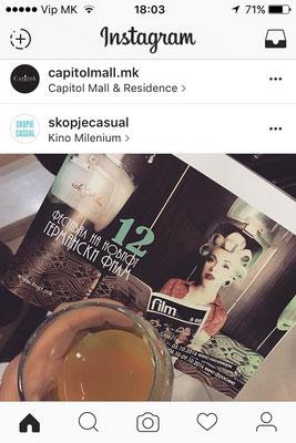 InstaTweet, Filmfestival Skopje 2016