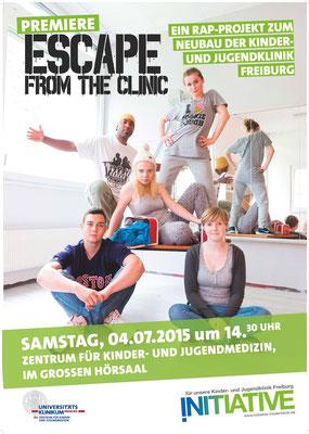 Rap Projekt 'Escape From The Clinic', Uniklinikum Freiburg 2015