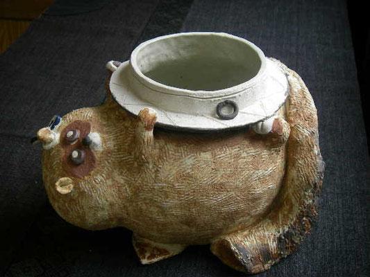 器だけでなく、オブジェなどの作陶ご指導も得意ですよ。