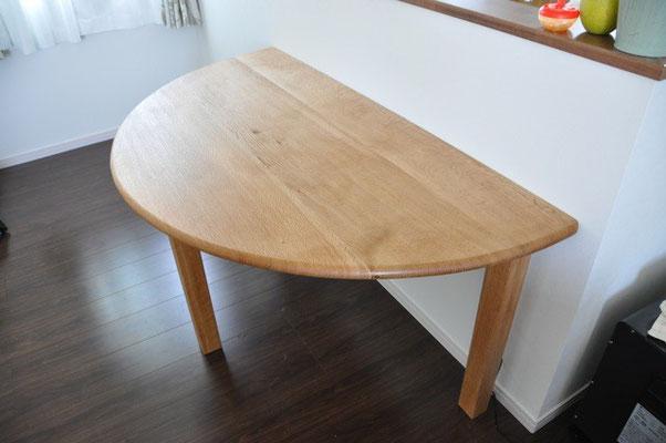 半円テーブル なら
