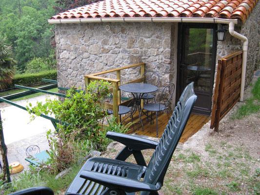 Gite 1 : Terrasse
