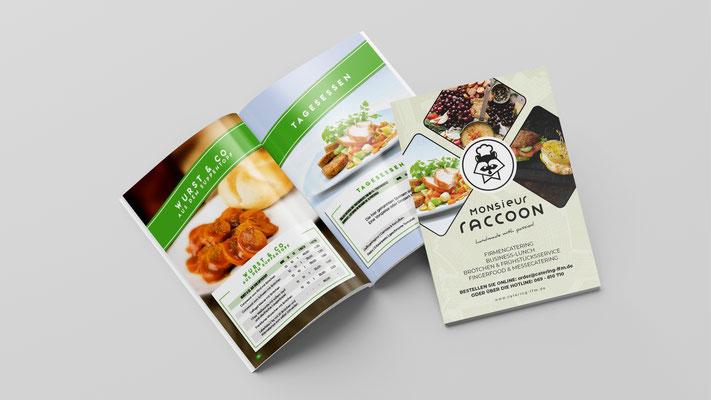 Katalog für Catering