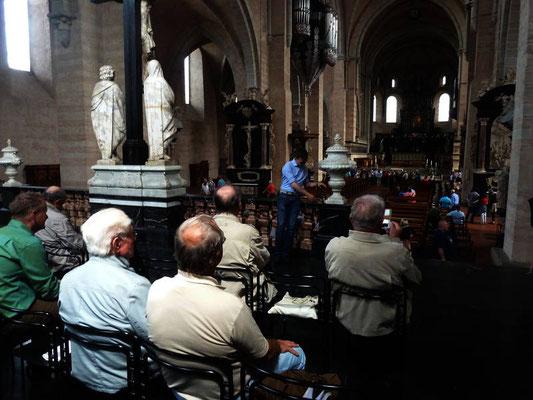 Ein Besuch im Trierer Dom war obligatorisch