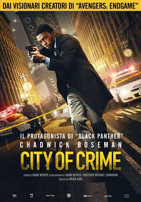 CITY OF CRIME giovedì 23, venerdì 24: ore 21:15 sabato 25, domenica 26: ore 16:30 - 18:30 – 21:15 #CityOfCrime #21Bridges