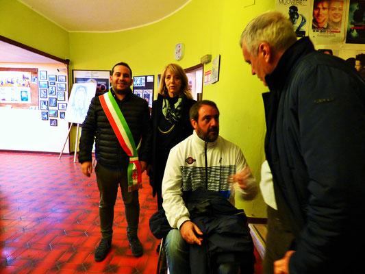 Sabato 16 novembre alle ore 10:00 al Cinema Le Grazie di Bobbio     Gli atleti paralimpici piacentini     Giovanni Zeni e Giordano Zavattoni      Incontreranno gli studenti dell'Istituto Comprensivo di Bobbio.