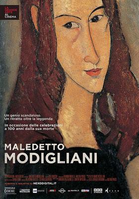 Cinema Le Grazie Bobbio ottobre – serata evento MALEDETTO MODIGLIANI lunedì 12: ore 21:15 #MaledettoModigliani