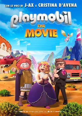 PLAYMOBIL: THE MOVIE sabato 11: ore 16:30 – 18:30 domenica 12, sabato 18, domenica 19: ore 16:30 #PlaymobilTheMovie