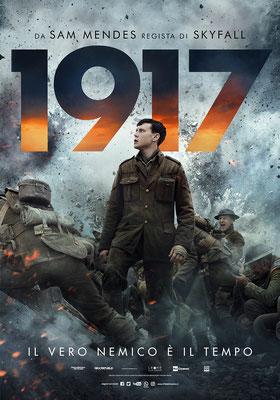 1917 giovedì 30, venerdì 31: ore 21:15 sabato 1, domenica 2: ore 16:30 -  18:30 - 21:15 sabato 8, domenica 9: ore 16:30 #1917ilFilm