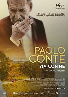Cinema Le Grazie Bobbio PAOLO CONTE – VIA CON ME Lunedì 28: ore 21:15 #PaoloConteViaConMe