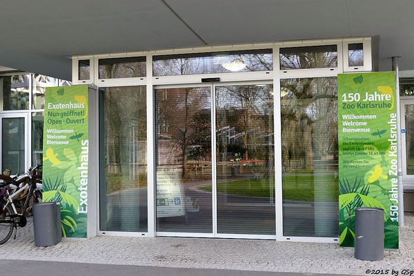 Eingang Exotenhaus