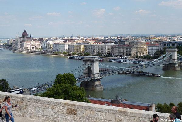 Kettenbrücke, Parlament