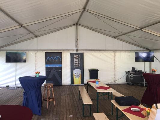 Geluid bedrijfsfeest Zuid-Limburg