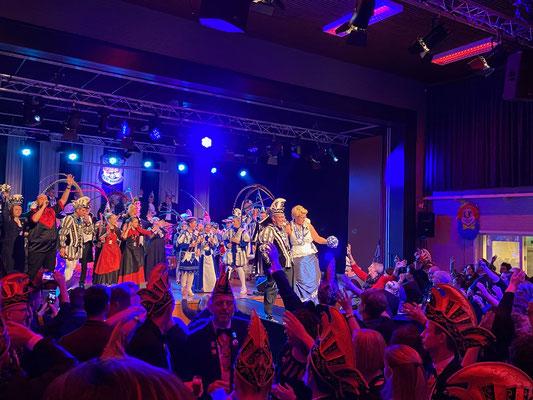 Geluid carnavalszitting Limburg
