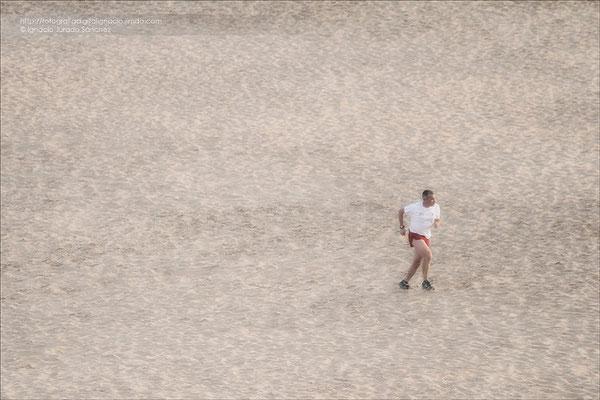 Corriendo por el desierto