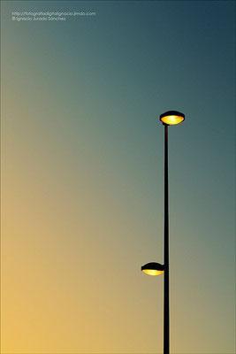 La luz del Atardecer