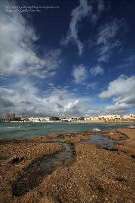 Cádiz, la caleta.