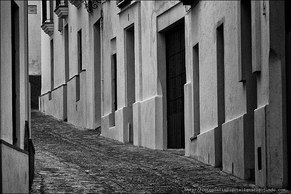 Una calle de Carmona, (Sevilla)