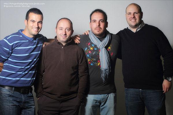 Foto de Grupo de derecha  a izquierda, Carlos, Jose Manuel, Israel e Ignacio