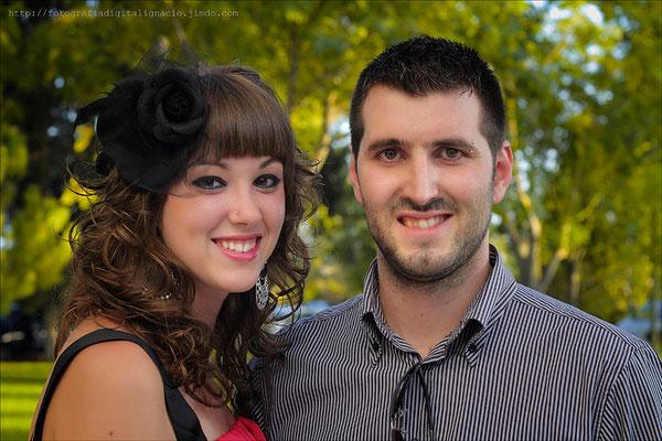 Jose Luis y su novia