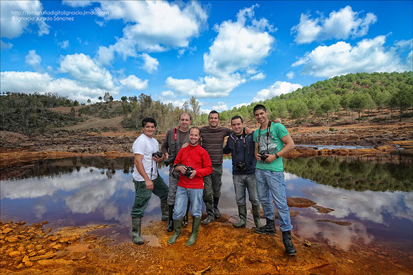 Foto de Grupo de izquierda a derecha (Ricardo, Manolo, Jesús, Ignacio, Jorge, David)
