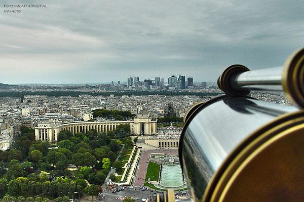 Paris vista desde La Torre Eiffel