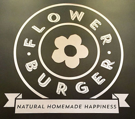 flower burger natural homemade happiness
