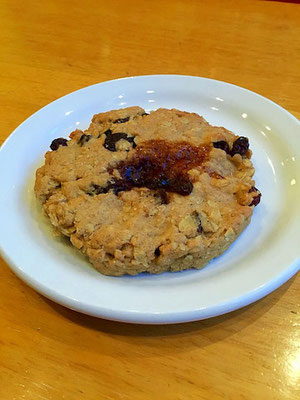 vegan oatmeal cookie deshima cafe