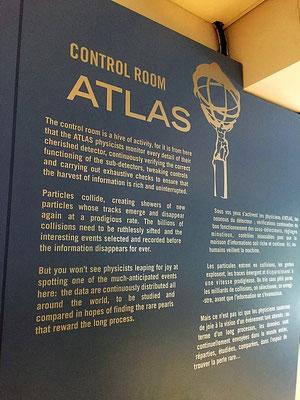 ATLAS control room at CERN