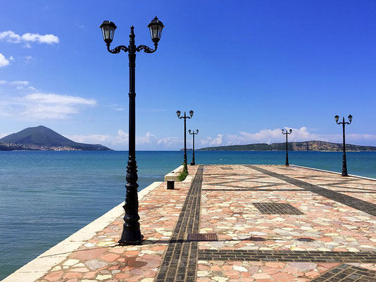gialova greece waterfront