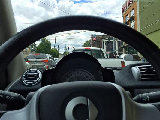 smart car steering wheel car2go