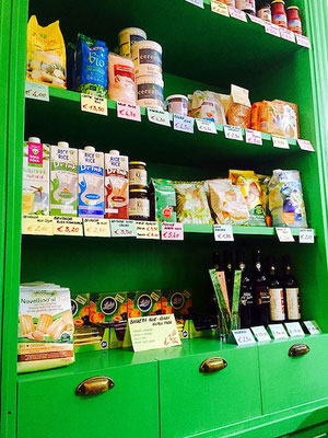 vegan products at v-bar natural parma italy
