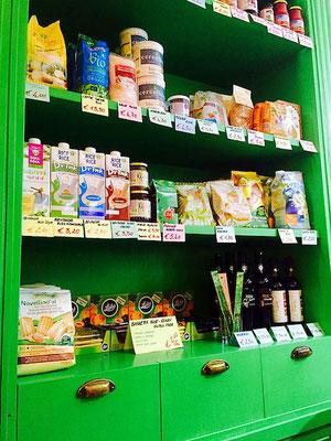 vegan products at v-bar natural parma italy