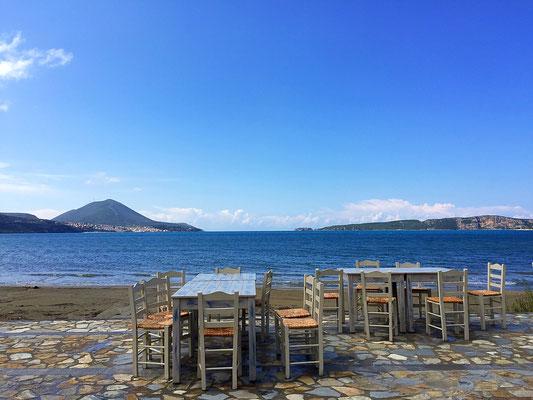 outdoor dining gialova greece