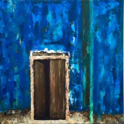 70 x 70 x 2   Mysterious Entrance   Acryl