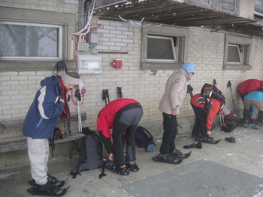 Winterwanderungen mit Bauer und Hofbesichtigung