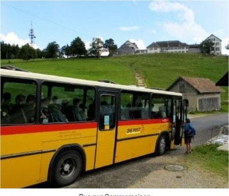 Busfahrt Jura