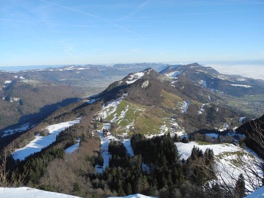 Winterwandern im Jura ideal ab Balmberg - die Kretenwanderung nach Baslthal
