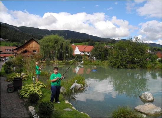 Forrellenzucht, Forellenfischen Gasthof für Fischer