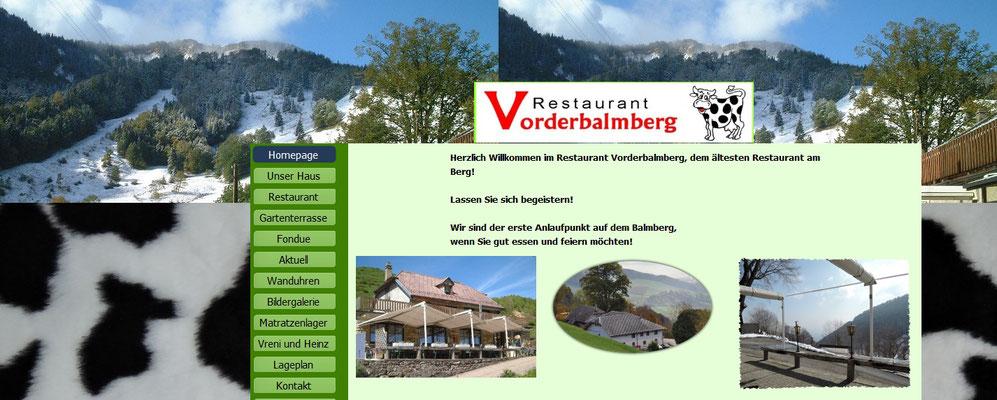 alle Uhren im Bergrestaurant Jura Vorderbalmberg