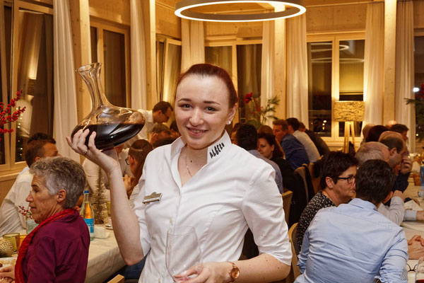 Fotodokumentation Kader-Jahresschlussfeier der Genossenschaft Migros Luzern GMLU im neu eröffneten Restaurant Albero Golfpark Holzhäusern