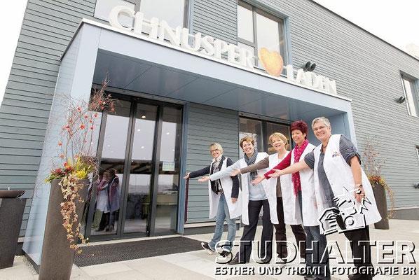 """Eröffnung neuer Fabrikladen """"Chnuschper Laden"""" der HUG AG in Malters/LU 2011"""