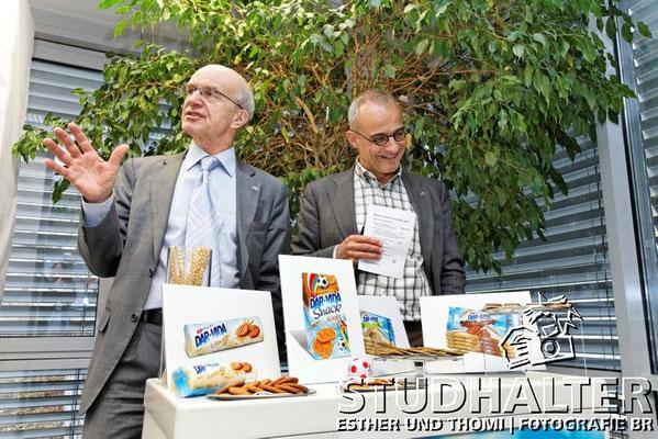 Alljährliches Medienfrühstück der HUG AG bei WERNLI AG in Trimbach/SO 2012