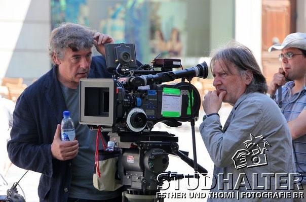 Regisseur Markus Imhof und Kameramann Rainer Klausmann.