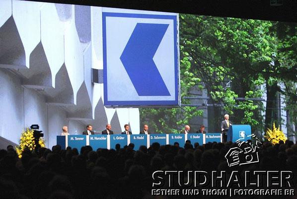 Generalversammlung 2011 Luzerner Kantonalbank Festhallen Allmend Luzern
